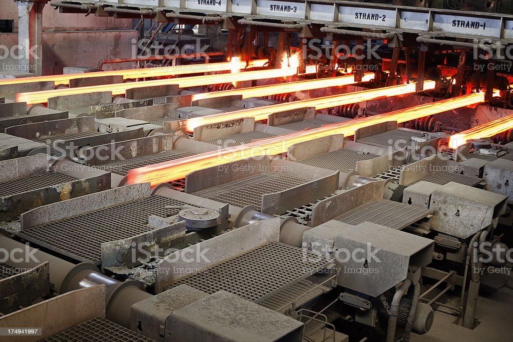 Eisen- und Stahlindustrie - Lizenzfrei Aktivitäten und Sport Stock-Foto