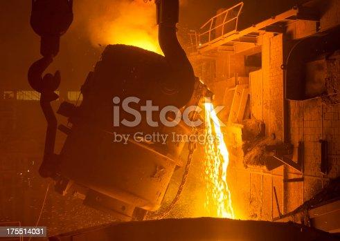 istock Iron and steel industry 175514031