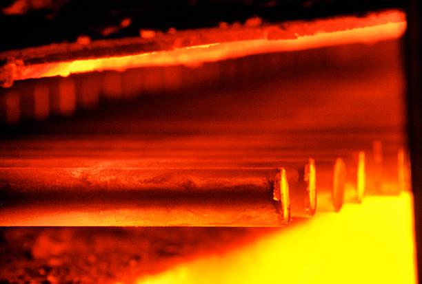 Eisen- und Stahlindustrie – Foto