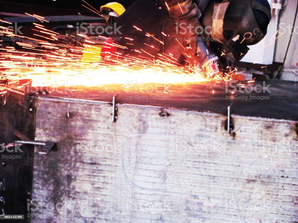 demir ve çelik - Royalty-free Adamlar Stok görsel