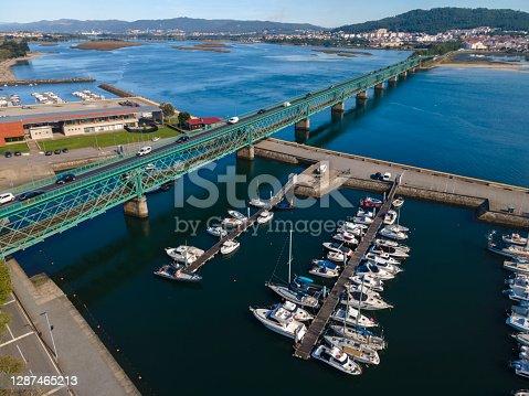 Iron Bridge in Viana do Castelo, Portugal
