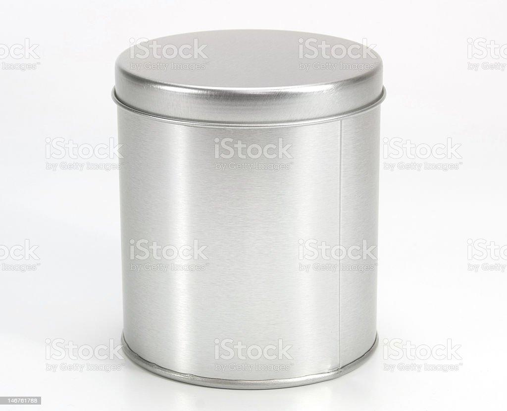 Iron Can stock photo