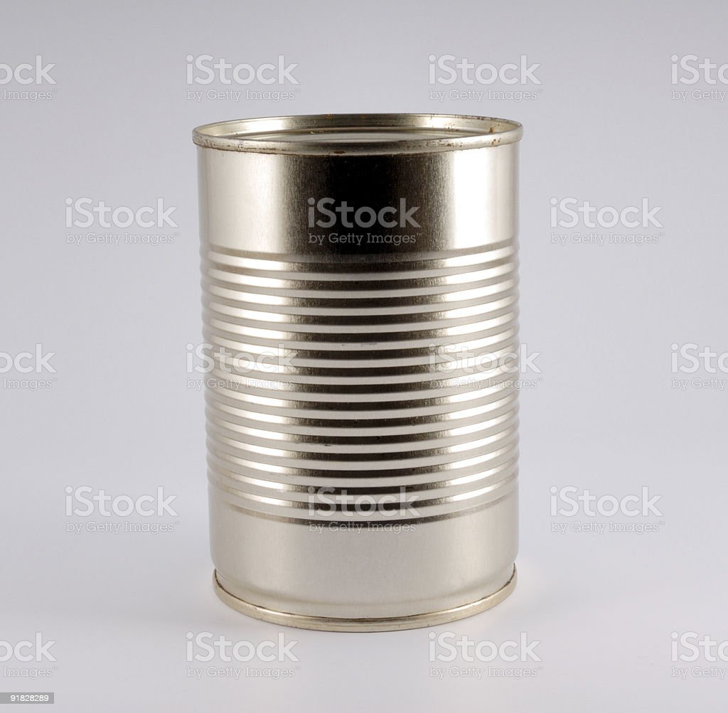 Iron can royalty-free stock photo