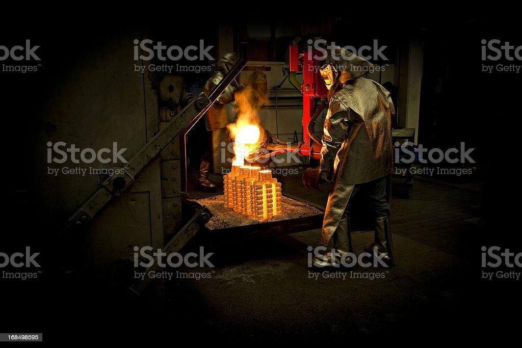 iron cast stock photo