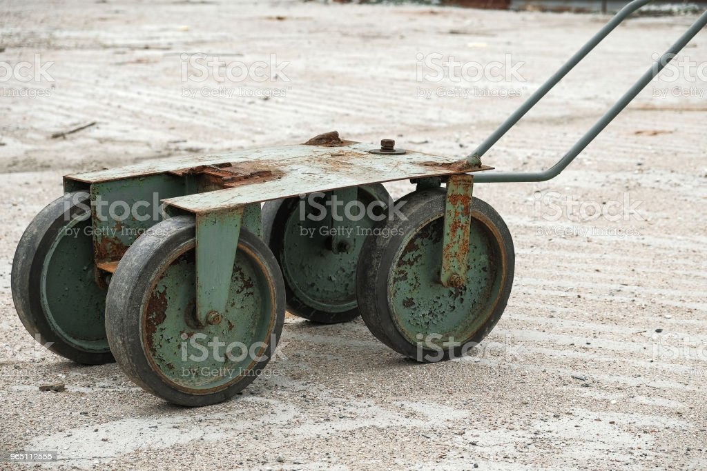 iron construction truck royalty-free stock photo