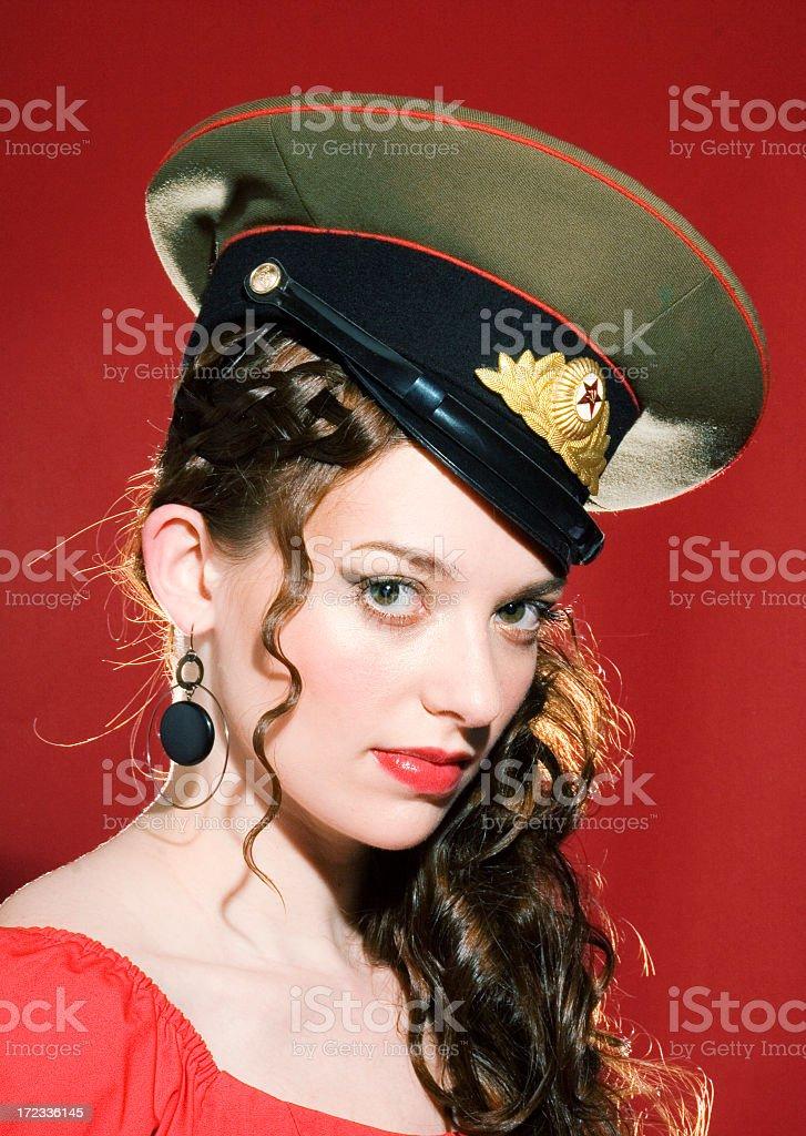 Iron Curtain Sexy royalty-free stock photo