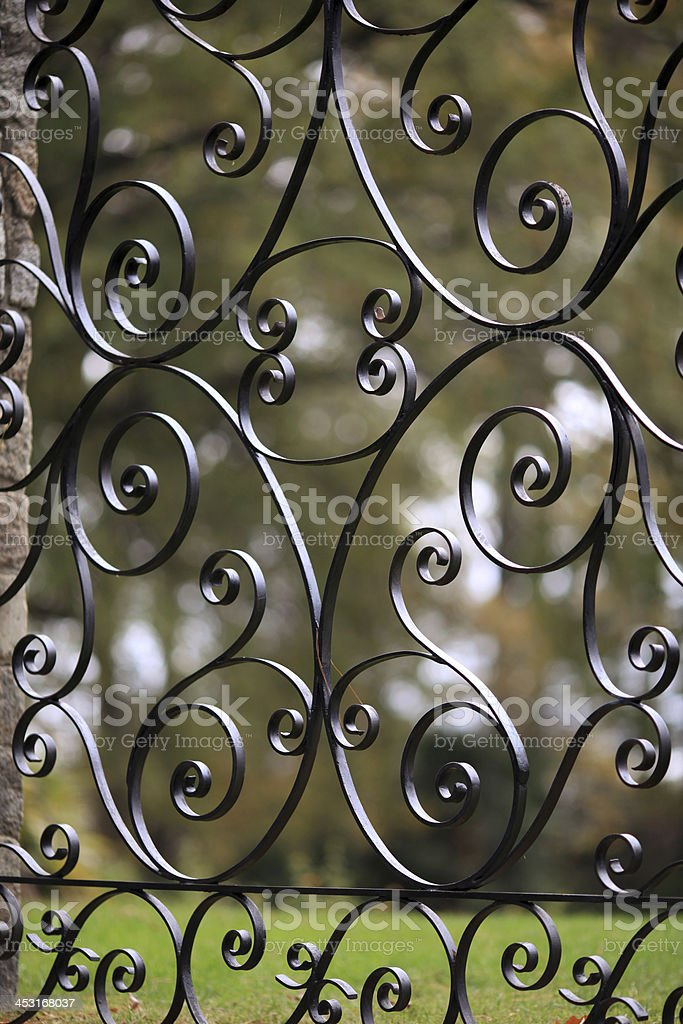 Iron Detail royalty-free stock photo