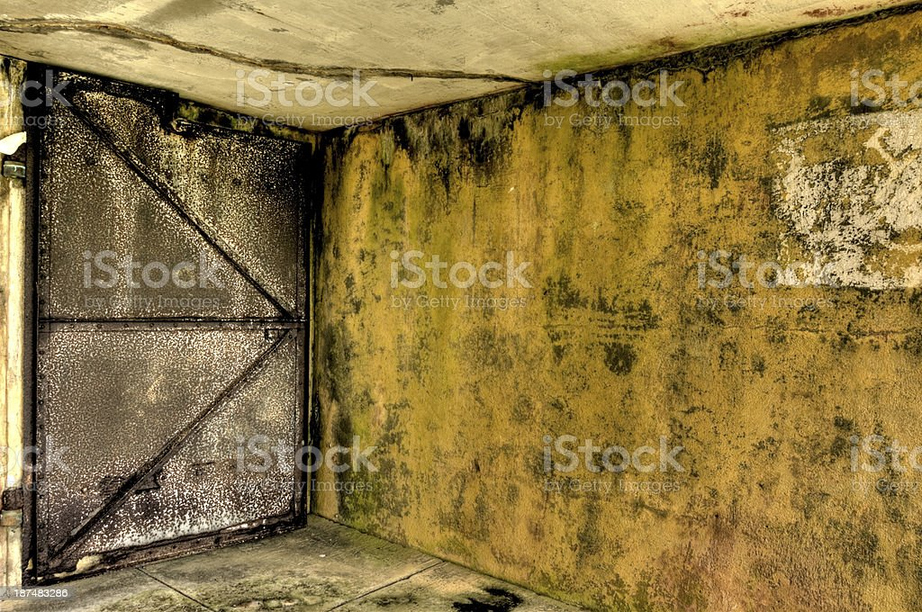 Iron Door HDR stock photo