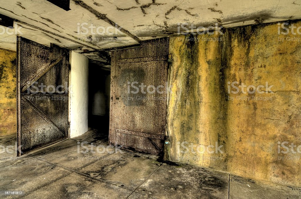 Iron Doors stock photo