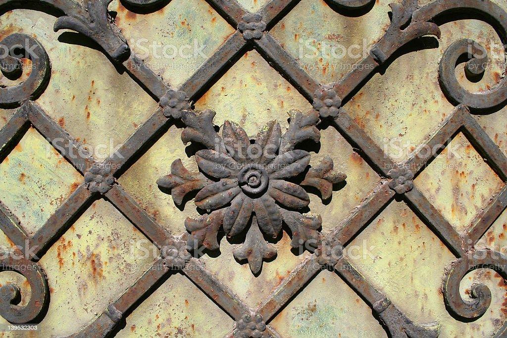 Iron flowers royalty-free stock photo