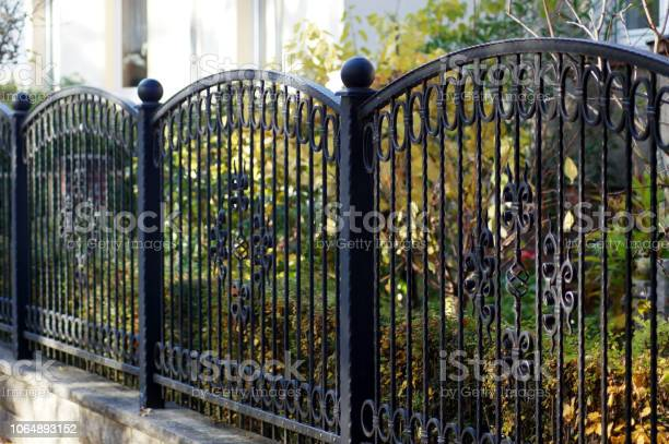 Photo of Iron garden fence for protection and safety