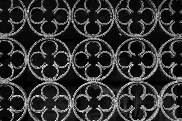 Iron Gate Detail stock photo