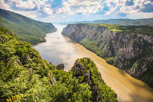철 북문 협곡 - 다뉴브 강 뉴스 사진 이미지