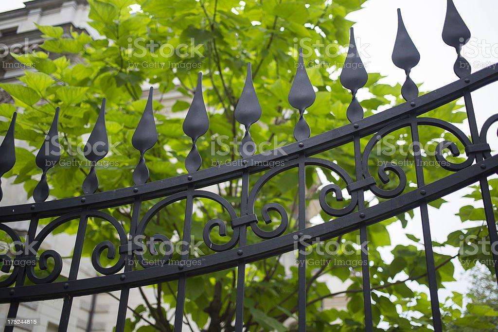 iron gate royalty-free stock photo
