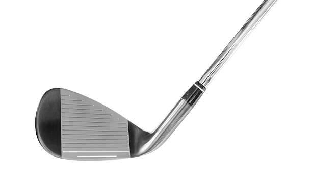 iron golf club - golf clubs stock photos and pictures
