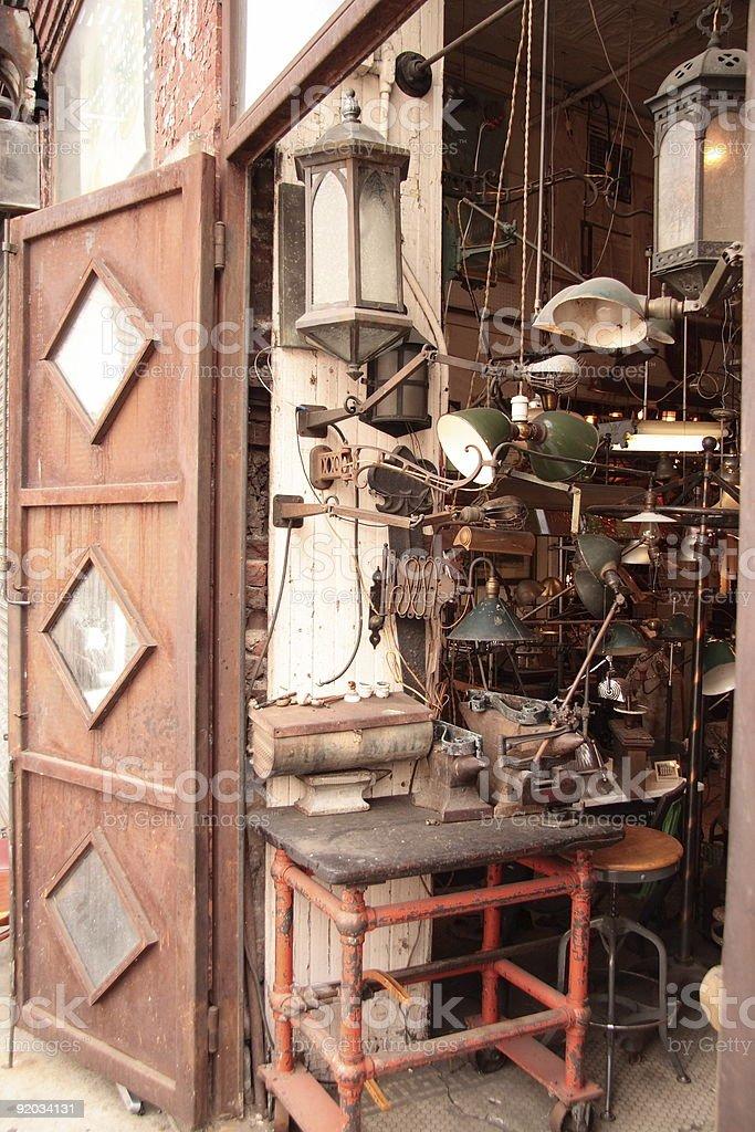 Iron Hardware Shop royalty-free stock photo