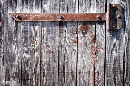 1178501072istockphoto Iron hinge on door 514531845