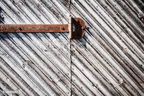 1178501072istockphoto Iron hinge on door 516638661