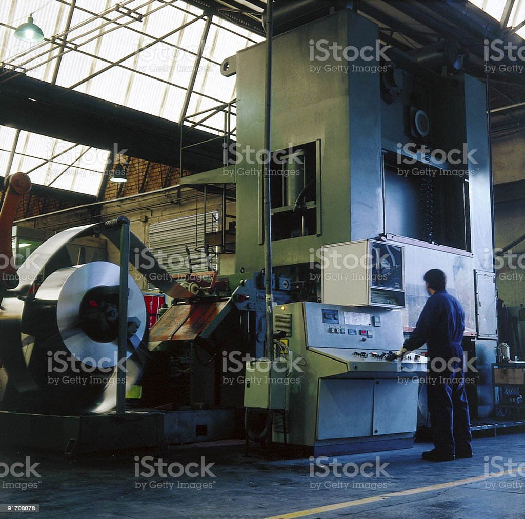 iron industry royalty-free stock photo