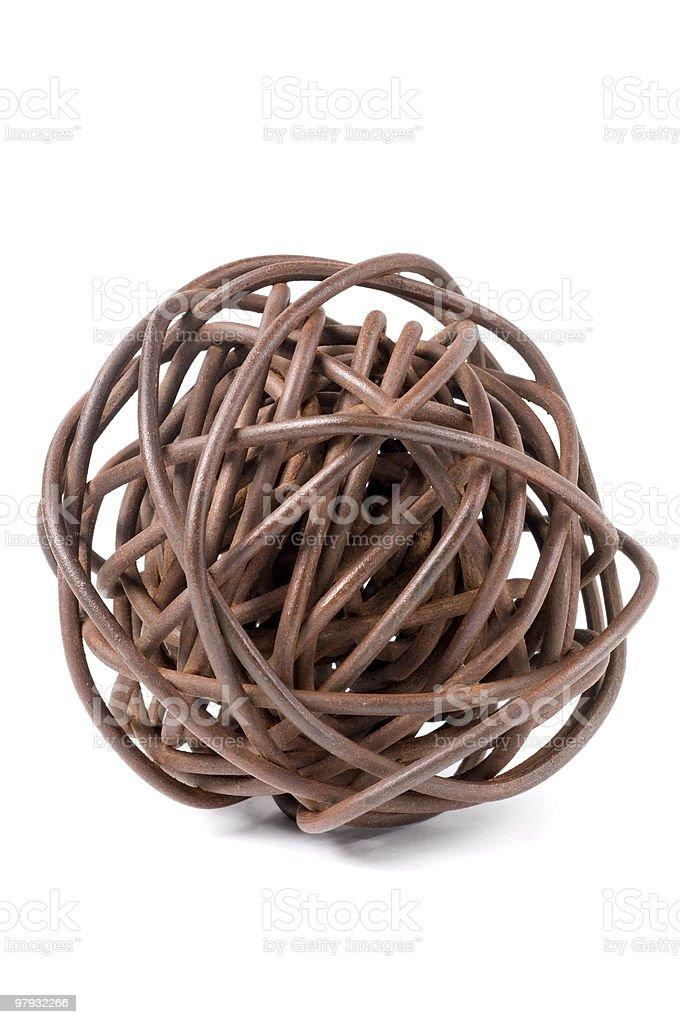 Iron Knot royalty-free stock photo