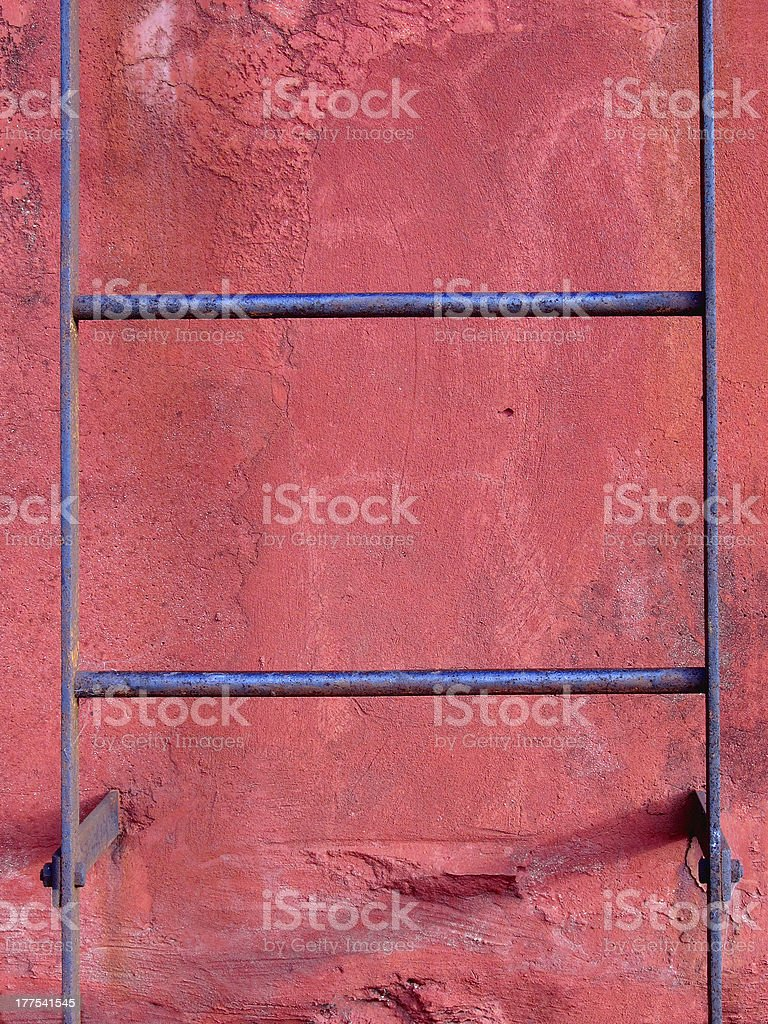 Iron ladder royalty-free stock photo
