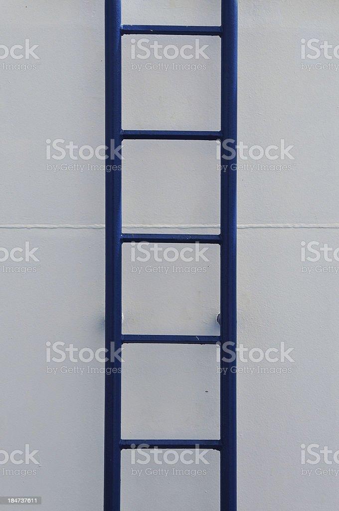 iron ladder ship wall royalty-free stock photo