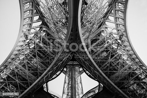 istock Iron lady from underneath 945598260