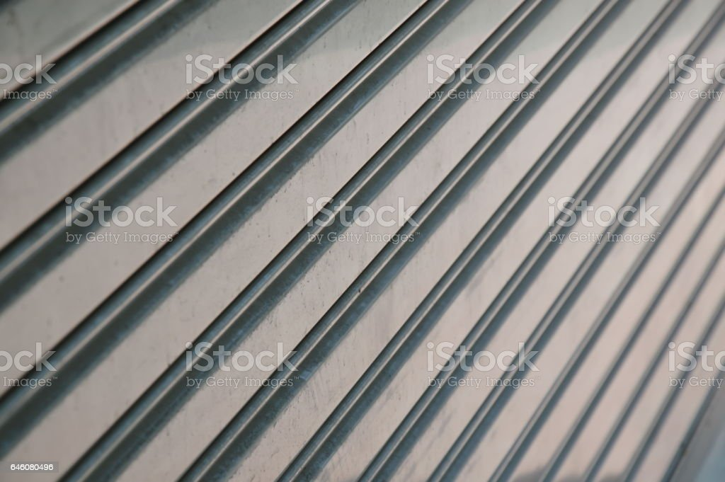 iron louver door texture and background stock photo