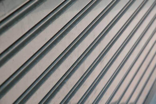 iron louver door texture and background - foto de stock