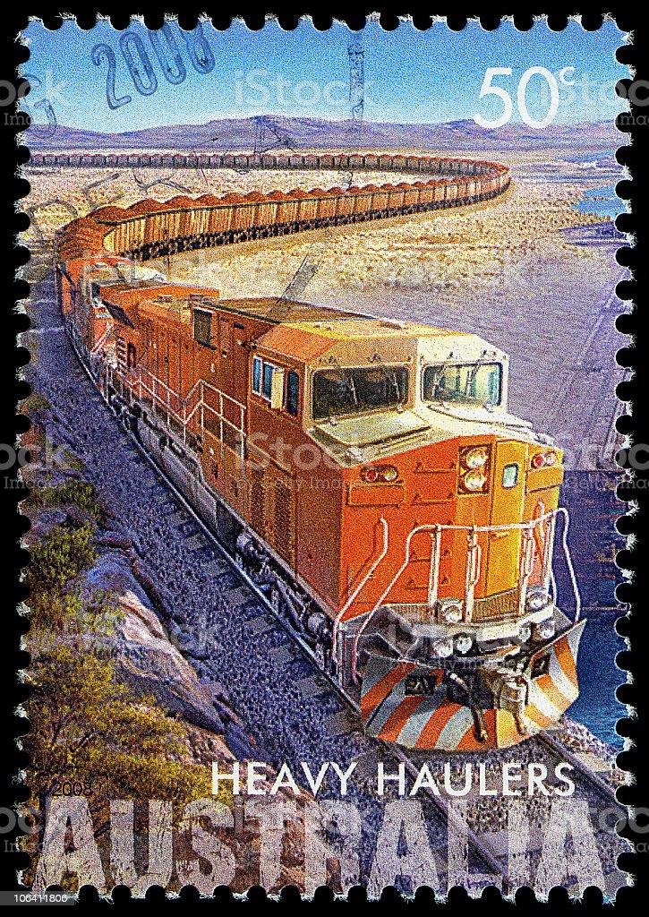 Iron Ore Train royalty-free stock photo