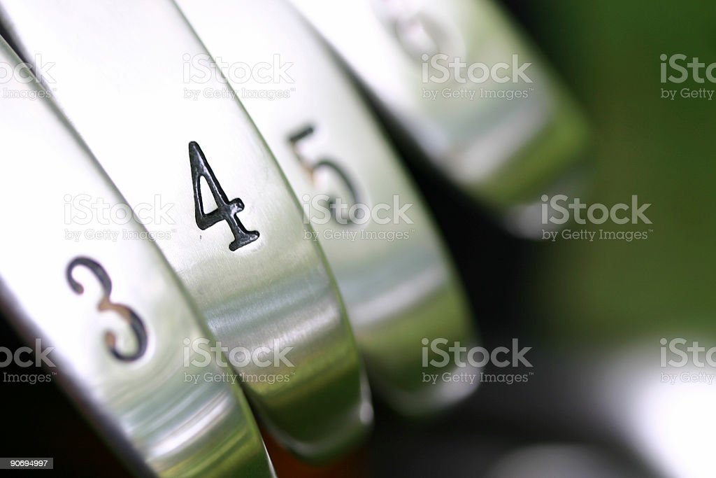 FORE Iron royalty-free stock photo