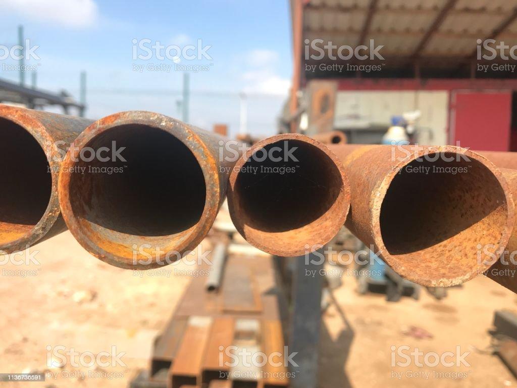 iron pipe