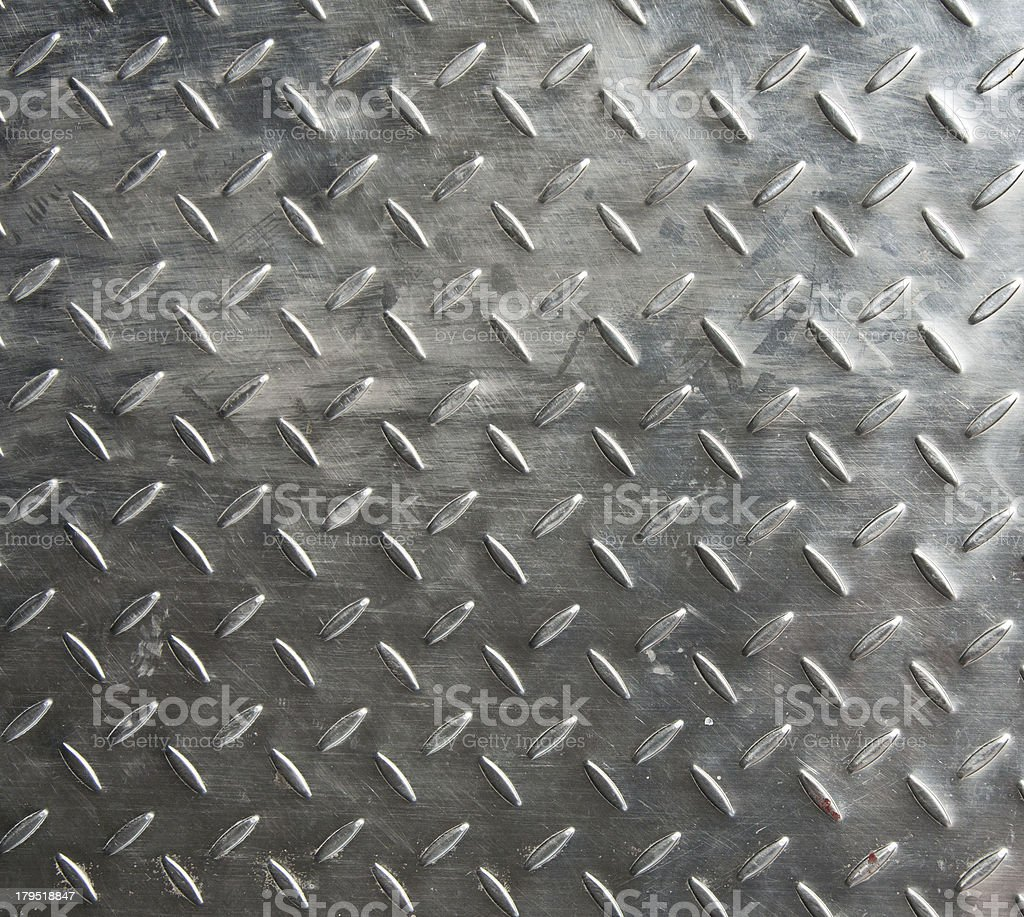 Iron plate with decorative pattern stock photo