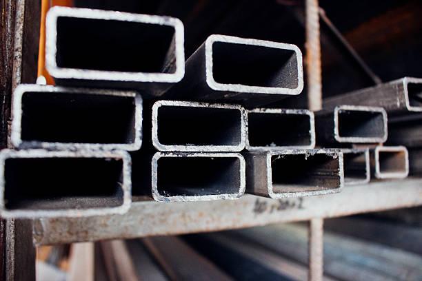 Iron rectangular profiles foto