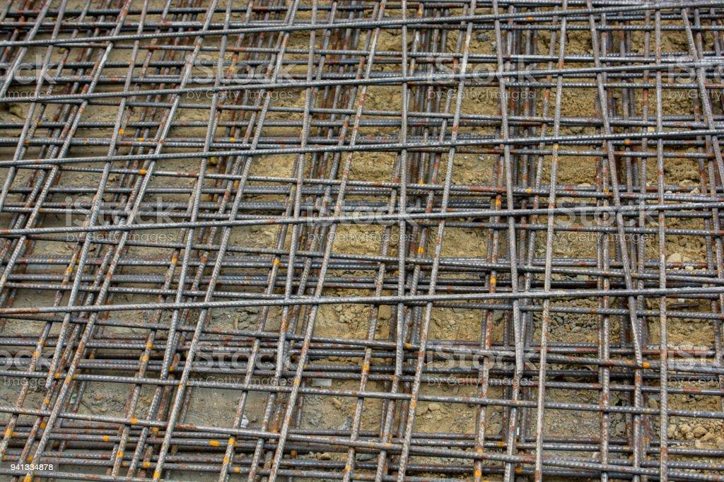 Barras De Refuerzo De Hierro Para Construcción Foto de stock y más banco de  imágenes de Barra - Herramientas de construcción - iStock