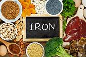 istock Iron rich foods 537628974