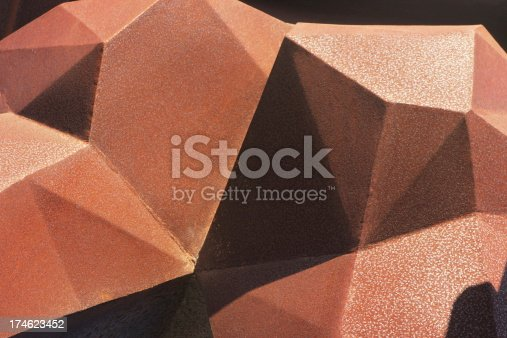 istock Iron Rust Abstract Atwork Polyhedral 174623452
