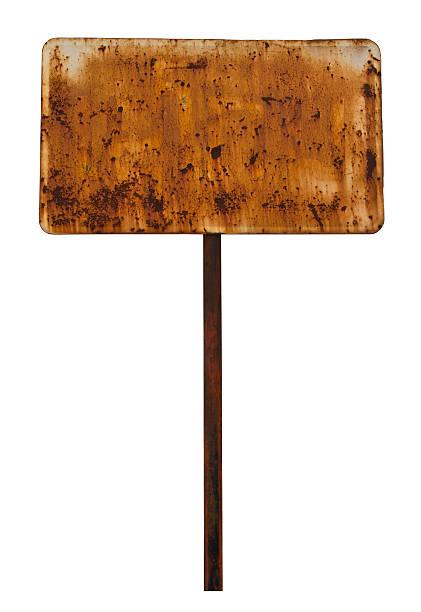 iron signposts - stock arrow bildbanksfoton och bilder