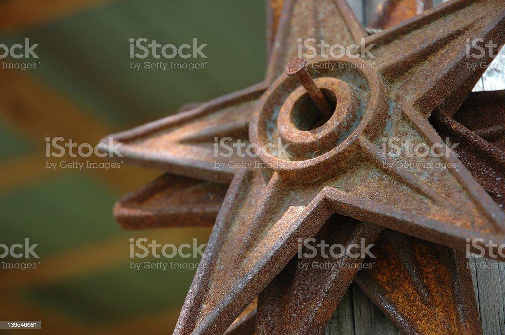 Iron Star royalty-free stock photo