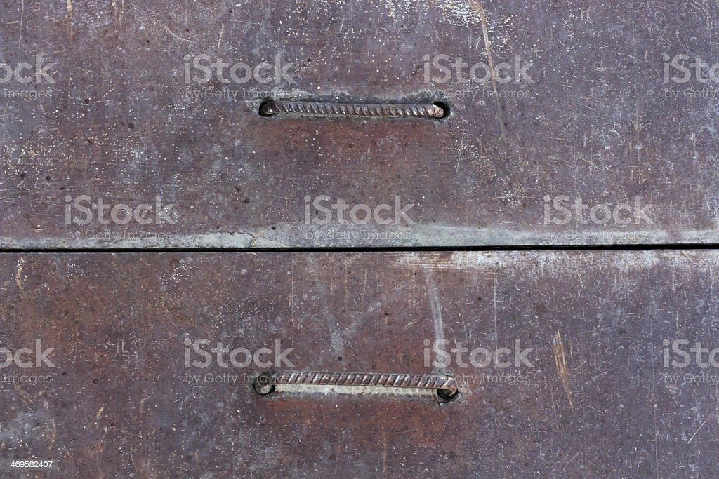 Iron Surface royalty-free stock photo