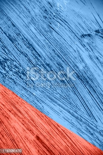 istock Iron surface with old paint 1192091470
