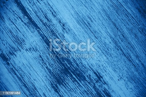 istock Iron surface with old paint 1192091484
