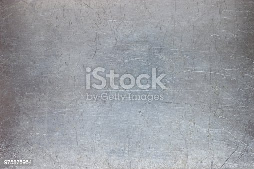 old metal background, bright iron texture, worn brush or sandpaper