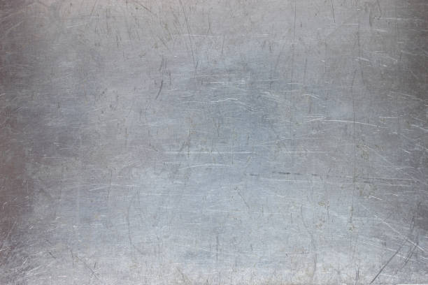 iron texture, pattern the metal plate with scuffed old metal background, bright iron texture, worn brush or sandpaper metal stock pictures, royalty-free photos & images