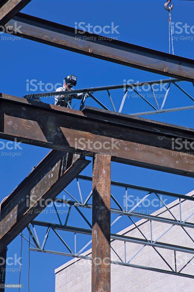 Iron Worker stock photo