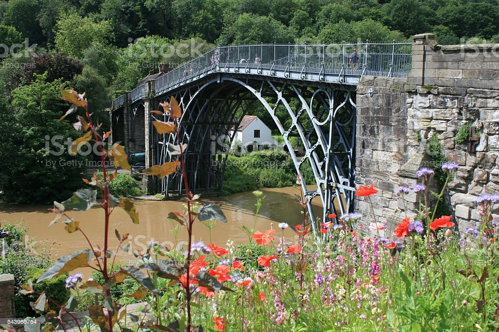 Ironbridge stock photo