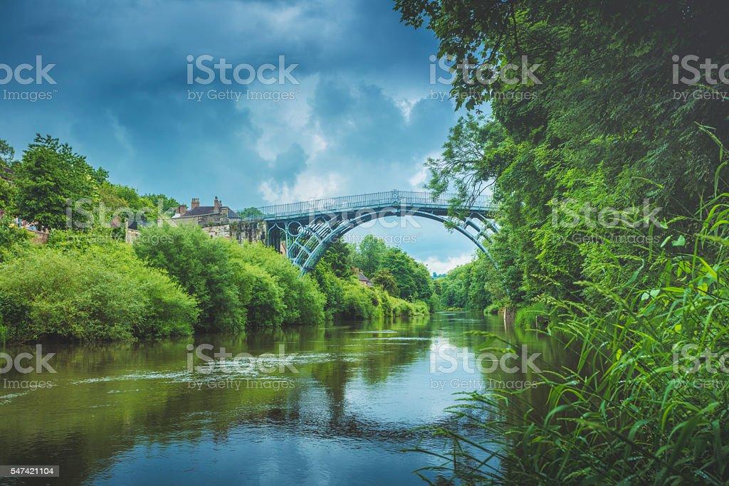Ironbridge stock photo