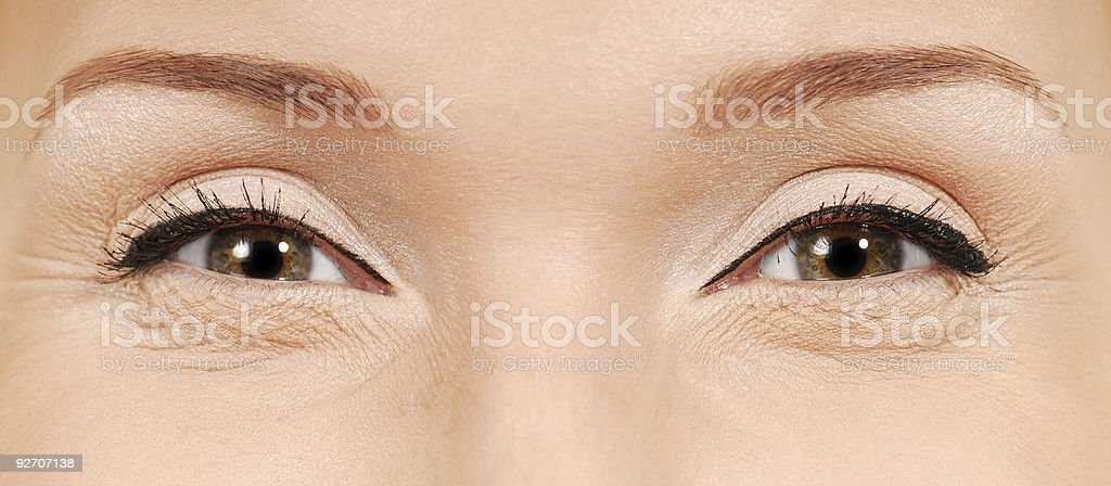 Ironical look royalty-free stock photo