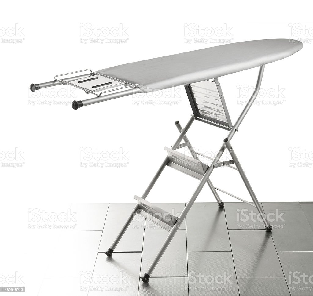 Ironing board stock photo