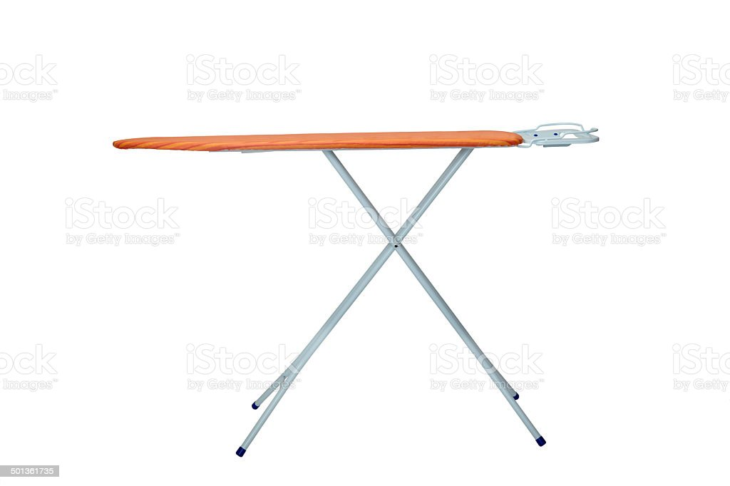 ironing clothes housework equipment stock photo